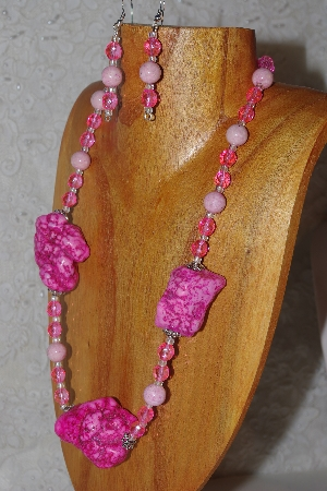 Mama Bears One Of A Kind Chunky Bead Necklace & Earring Sets