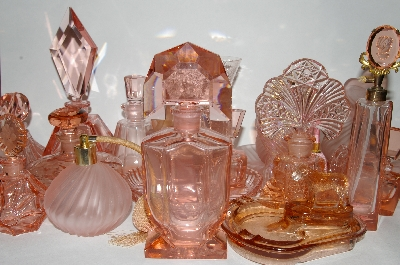 """Elegant Pink Vintage, New & Reproduction  Glassware"""