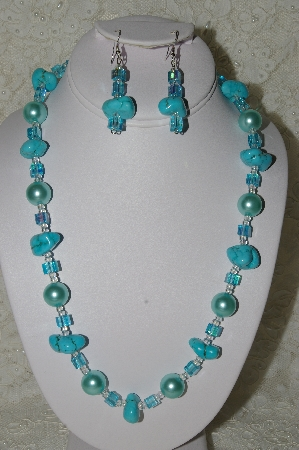 Mama Bear's One Of A Kind Hand Beaded Necklace & Earring Sets