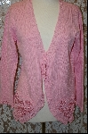 "MBA #7950  ""StoryBook Knits Limited Edition Pink Hearts Sweater"