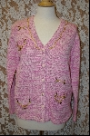 "MBA #7929   ""StoryBook Knits Limited  Edition  Multi Pink Charm Sweater"