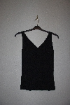 "MBAMG #76-044  ""Isabella DeMarco Fancy Black Knit Tank"""