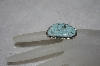 "**MBATQ #1-1120  ""Artist Signed Blue Turquoise Ring"""