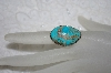 "**MBATQ #1-1167  ""Fancy Blue Turquoise Ring"""