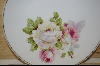 "**MBA #52  ""Hand Painted German Rose Plate"