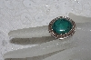 "**MBATQ #3-310  ""Fancy Sterling Green Turquoise Ring"""