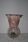 "**MBAMG #24-001  ""Fancy Pink Glass Vase"""