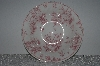 "+MBAMG #019-071  Set Of 4   ""Queens China Pink Chelsea Toile Saucer"""