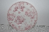 "+MBAMG #019-046  Set Of 4  ""Queens China Pink Chelsea Toile Salad/Desert Plate"""