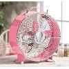 """SOLD""  MBAMG #T06-057     ""Salton Pink Retro Diner 2-Speed Fan"""