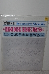 "MBAMG #009-346  ""C-Thru Decorative Stencils"""