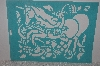 "**MBAMG #009-338  ""Stencil House ""Fantasy Unicorn"" Large Stencil"""