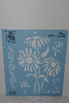"**MBAMG #009-312  ""Simply Stencials By Plaid ""Bunch Of Dasies"" Stencil"""
