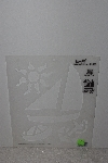"**MBAMG #009-302  ""1991 Simply Stencils By Plaid #28424 Sailing"""