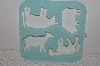 "MBAMG #009-455  ""Heavy Duty Plastic Stencil/Farm Animals #5007-B"""