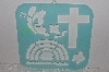 "MBAMG #009-454  ""Heavy Duty Plastic Cross, Rainbow & Misc Stencil"""