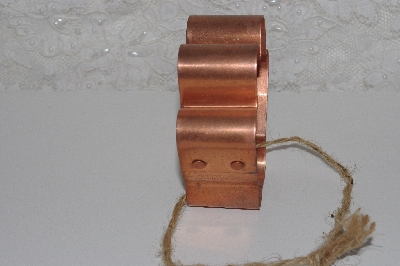 "+MBAMG #099-077  ""Older Kitchen Collectibles Copper Hand Cookie Cutter"""
