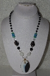 "MBAHB #00013-8623  ""Fancy Lamped Worked Glass Bead Necklace"""