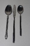 "**MBAMG #00016-0050  ""Vintage Set Of 3 / 2 Spoons & 1 Knife"""