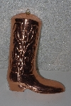 "MBA #524-0019  ""Copper Cowboy Boot Mold"""