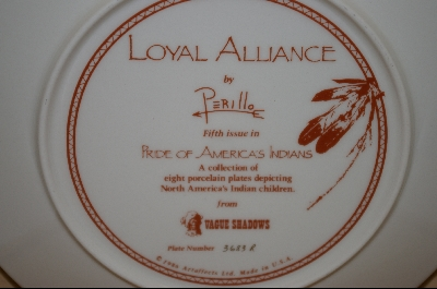 "+MBA #5-084   ""1986 ""Loyal Alliance"" Artist Gregory Perillo"