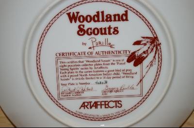 "+MBA #5-009  1989 "" Woodland Scouts"" by Artist Gregory Perillo"