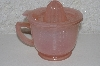 "**MBAMG #108-0058  ""Reproduction Pink Glass Measuring,Mixing & Reamer Cup"""