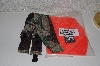 "MBACF #598-0055  ""Man's Camo Suspenders & Orange Comfort Temp Hat"""