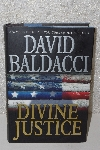 "MBACF #B-0007  ""2008 Divine Justice By David Baldacci Hardcover"""