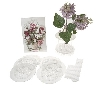"MBA #F227  ""Set Of 8 Flower Magic Caps With Floral Concepts Book"""
