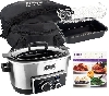 "MBA #NSS ""Stainless Steel Ninja 4 In 1 6 Quart Multi Cooker With Recipe Book & Travel Bag"""
