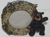 "MBA #1616-384    ""Small Round Bear Photo Frame"""