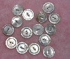 "MBA #1616-0096  ""Vintage Lot Of 15 Shell Buttons"""