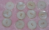 "MBA #1616-157  ""Vintage Lot Of 21 Shell Buttons"""
