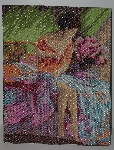 "MBA #2020-0107  ""Royal Paris Hand Beaded Tapestry"""