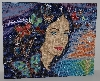 "MBA #2929-0098  ""Collection D'Art Hand beaded Tapestry"""