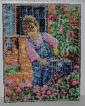 "MBA #2020-0038  ""Royal Paris Hand Beaded Tapestry"""