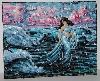 "MBA #2020-0027  ""Collection D' Art Hand Beaded Tapestry"""