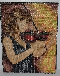 "MBA #2020-0008  ""Royal Paris Hand Beaded Tapestry"""
