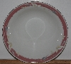 "+MBA #2727-0426   ""Majesty Collection Taupe Fantasy #8394 Large Round Serving Bowl"""