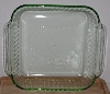 "MBA #2727-0035   ""MSE Set Of 2 Iridescent Green 8X8 Glass Baking Dishes"""