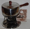"MBA #2727-563   ""1983 Himark  12 Piece Stainless Steel Fondue Set"""