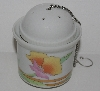 "MBA #2727-276   ""The Toscany Collection 3 Piece Poppy Tea Porcelaine Infuser"""