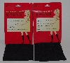 "MBA #2828-0055  ""2003 Spanx Black Set Of 4 Pairs Topless Trouser Socks"""