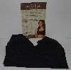 "MBA #2929-416    ""Set Of 3 Black Genie Bras With Modesty Pads"""