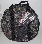 "MBA #3232-336   ""Wel-Bilt Set Of 2 Mossy Oak Pattern Cable Totes"""