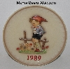 "MBA #3131-258  ""Gobel 19th Annual 1989 Collectors Plate"""