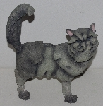"MBA #3535-856   ""2002 A Breed Apart Large Posh Cat Figurine #70410"""