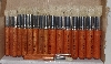 "MBA #3535-879   ""Jan Dressler Wood Handled 20 Piece Stencil Brush Set"""