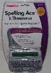 "MBA #3535-425   ""2004 Franklin Spelling Ace & Thesaurus # SA-206S"""